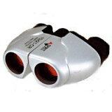 ◇ NASHICA/ナシカ光学 コンパクト双眼鏡 10倍 超軽量(重さ155g)/シルバー 10x21CR-IR-SV ◆宅