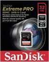 楽天風見鶏◇ 【32GB】 SanDisk/サンディスク ExtremePRO SDHCカード UHS-II 最大280MB/s 海外リテール SDSDXPB-032G-G46 ◆メ