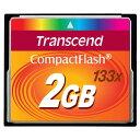 ◇ 【2GB】 Transcend トランセンド CFカード コンパクトフラッシュ 133倍速 TS2GCF133 ◆メ