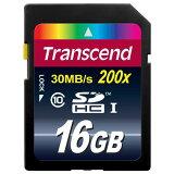 ◇ 【16GB】 Transcend/トランセンド SDHCメモリーカード CLASS10 永久保証 TS16GSDHC10 ◆メ