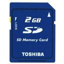 2GB SDカード TOSHIBA 東芝 バルク SD-M02G-BLK ◆メ