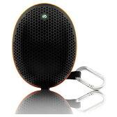◇ Sony Ericsson アウトドア用ワイヤレススピーカー Bluetooth2.1(約10m) 単3形乾電池対応 ストラップ&カラビナ付 バルク MS500-BLK ◆宅