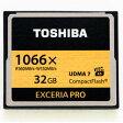 ◇ 【32GB】 TOSHIBA/東芝 コンパクトフラッシュ EXCERIA PRO 1066倍速/UDMA7 海外リテール CF-032GSR8A ◆メ