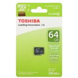 ◇【64GB】TOSHIBA/东芝microSDXC卡 Class10读包含在内最大30MB/S 海外零售品SD-C064GR7WAR30◆me[◇ 【64GB】 TOSHIBA/東芝 microSDXCカード Class10 読込最大30MB/S 海外リテール品 SD-C064GR7WAR30 ◆メ]