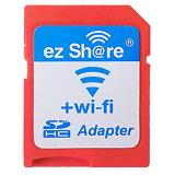 ◇ 【microSDHCカードを簡単Wi-Fi接続】 ezShare Wi-Fi microSDアダプター Class10 4GB-32GB対応 海外リテール ES-WiFiSD-ADP ◆メ