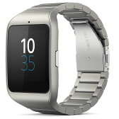 ◇ SONY ソニー スマートウォッチ3 Smart Watch 3 SWR50 Silver シルバー メタルブレス 並行輸入品 1287-4374 ◆宅