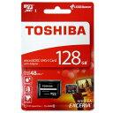 ◇ 【128GB】 TOSHIBA 東芝 EXCERIA microSDXCカード CLASS10 UHS-I対応 R:48MB/s SDアダプタ付 海外リテー...