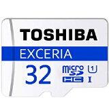 �� ��32GB�� TOSHIBA ��� EXCERIA microSDHC������ CLASS10 UHS-I�б� R:48MB/s ������ơ��� THN-M301B0320C4 ����