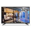 ◇ REVOLUTION レボリューション 32インチ ハイビジョン液晶テレビ 外付けHDD録画対応 HDMI入力3系 壁掛け対応 ZM-L32TVR ◆宅