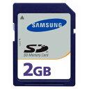 ◇ 【2GB】 SAMSUNG サムスン 純正 SDメモリーカード ミニケース付 バルク MMAGF02GWFCA-2MN-BLK ◆メ