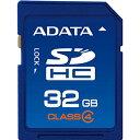 ◇ 【32GB】 A-DATA SDHCカード CLASS4対応 ASDH32GCL4-R ◆メ