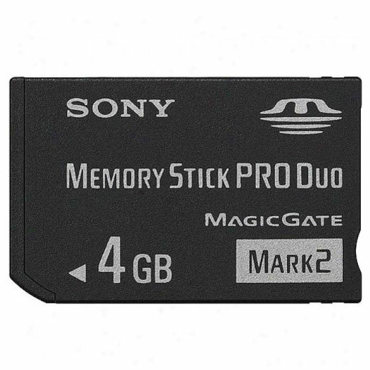 4GB メモリースティック PROデュオ Mark2 SONY ソニー マジックゲート 海外リテール MS-MT4G/T1 ◆メ