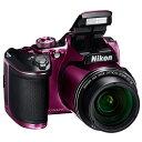 ◇ Nikon ニコン デジタルカメラ COOLPIX B500 光学40倍ズーム 約0.17秒の高速AF 1602万画素 プラム COOLPIXB500PU ...