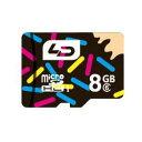 ◇ 【8GB】 LD microSDHCカード Class6 UHS-I対応 R:最大20MB/s 日本語パッケージ LD-MSD8GC6U1 ◆メ