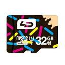 ◇ 【32GB】 LD microSDHCカード Class10 UHS-I対応 高速転送 R:最大70MB/s 日本語パッケージ LD-MSD32GC10U1...