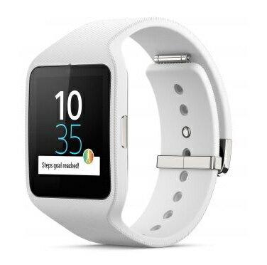 ◇ SONY ソニー スマートウォッチ3 Smart Watch 3 SWR50 White ホワイト シリコンブレス 並行輸入品 1292-4180 ◆宅