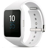 ◇ SONY ソニー スマートウォッチ3 Smart Watch 3 SWR50 White ホワイト シリコンブレス 並行輸入品 1293-3930 ◆宅