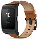 ◇ SONY ソニー スマートウォッチ3 Smart Watch 3 SWR50 LeatherBrown ブラウンレザーブレス 並行輸入品 1294-2260...