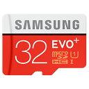 ◇ 【32GB】 Samsung サムスン microSDHCカード EVO Plus Class10 UHS-I R:最大80MB/s 海外リテール MB-M...