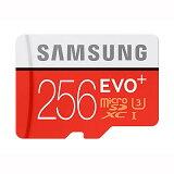 ◇ 【256GB】 Samsung サムスン microSDXCカード EVO Plus Class10 UHS-I U3 最大R:95MB/s W:90MB/s SDアダプター付 海外リテール MB-MC256DA/APC ◆メ
