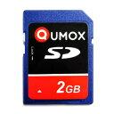 2GB SDカード QUMOX ミニケース付 バルク QXSD-002G-BLK ◆メ