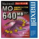 MOディスク 640MB maxell マクセル 3.5インチ MACフォーマット済 1枚 ケース入り MA-M640.MAC.B1P ◆メ