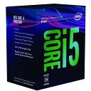 CPU Core i5-8400 BOX LGA1151 Intel インテル 第8世代 Coffee Lake-S 2.8GHz 6コア/6スレッド 9Mキャッシュ BX80684I58400 ◆宅