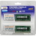 8GB 2枚組 DDR3 ノート用メモリ CFD Panram DDR3-1600 204pin SO-DIMM 低電圧1.35V 8GBx2(計16GB) 動作確認済セット W3N1600PS-L8G ◆メ