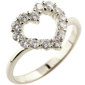 [送料無料]婚約指輪 エンゲージリング オープンハート ダイヤモンドリング プラチナリング 指輪 ピンキーリング ダイヤ ダイヤモンド pt900 レディース【_包装】0824カード分割【コンビニ受取対応商品】 天然ダイヤモンドを贅沢に使ったゴージャスなリング