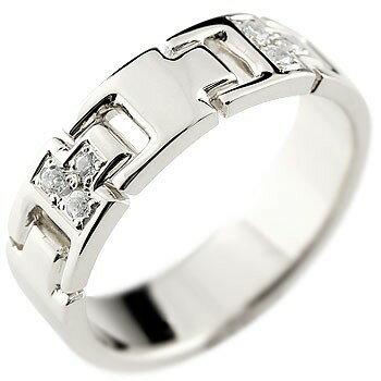 [送料無料]婚約指輪 エンゲージリング ダイヤモンドリング プラチナリング 指輪 ダイヤモンド リング ピンキーリング ダイヤ 幅広 pt900 レディース【_包装】0824カード分割【コンビニ受取対応商品】 シンプルなのに印象的 ダイヤモンドリング
