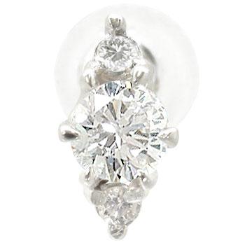 [送料無料]片耳ピアスダイヤモンド ピアス ホワイトゴールドk18ダイヤモンド 0.13ct18k 18金【_包装】0824カード分割【コンビニ受取対応商品】 4月の誕生石ダイヤモンド :ダイアピアスもろいです