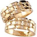 ショッピングピンクゴールド ペアリング 指輪 ダイヤ ダイヤモンド ピンクゴールドk18 結婚指輪 マリッジリング 2本セット 18k 18金【楽ギフ_包装】0824楽天カード分割【コンビニ受取対応商品】 指輪 大きいサイズ対応 送料無料