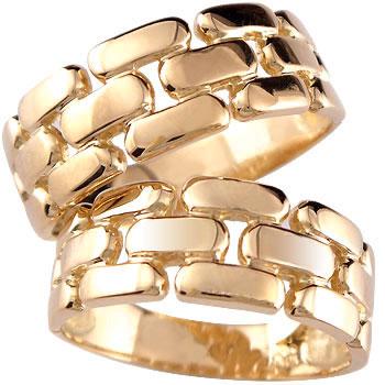 [送料無料]ペアリング ピンクゴールドk18 結婚指輪 マリッジリング k18PG 結婚記念リング 幅広 2本セット 18k 18金【_包装】0824カード分割【コンビニ受取対応商品】 指輪 ペアリングシンプルで人気なオーダーメイド指輪