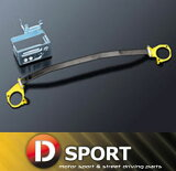 【kopen L880k 事情】D-SPORT (D体育)服务台strut塔酒吧〔arukabon'obarutaipu〕类型II 编号∶55137-B083[【 コペン L880K 用 】 D-SPORT (Dスポーツ) フロントストラットタワーバー〔アルカーボンオーバル