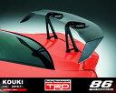 【 TOYOTA 86 (ハチロク) ZN6 / FA20 用 】 TRD GTウイング (カーボン製) 品番: MS342-18006 (TRD PERFORMANCE PARTS)