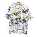 90sOLD半袖レーヨンアロハシャツ★★★XLサイズLサイズ大きいサイズ半袖シャツハワイアンシャツ