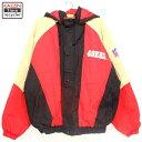 90s 古着 NFL ナイロン ジャケット スターター ★ 49ERS 90年代 XLサイズ 大きいサイズ ビッグサイズ アメフト アウター メンズ
