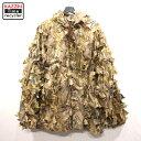 ショッピングミリタリー 80s USA製 ウェットランドカモ 迷彩 ギリースーツ 古着 ★ 表記XLサイズ ビックサイズ 大きいサイズ