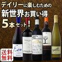 春を先取り!新世界の中でもとりわけコスパの高いワインばかりを集めた新世界5本セットです!