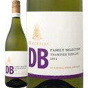 オーストラリア ワイン db デ・ボルトリ・DB・トラミナー・リースリング【オーストラリア】【白ワイン】【750ml】【ライトボディ】【やや甘口】