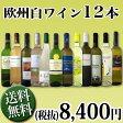 【送料無料】1本あたり700円(税別)!!採算度外視の大感謝!厳選白ワイン12本セット