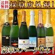 【送料無料】第70弾!ベスト・オブ・スパーク!京橋ワイン厳選!高級クレマンも入った極旨泡ばかりの辛口スパークリングワイン6本セット!