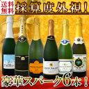 【送料無料】第83弾!ベスト・オブ・スパーク!京橋ワイン厳選!高級クレマンも入った極旨泡ばかりの辛口