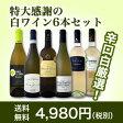 【送料無料】第61弾!採算度外視の謝恩企画!京橋ワイン厳選!特大感謝の大満足白ワイン6本セット!