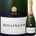 [クーポンで7%OFF]ボランジェ・スペシャル・キュヴェ【シャンパン】【750ml】【正規】【Bollinger】