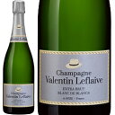 シャンパーニュ・ヴァランタン・ルフレーヴ・エクストラ・ブリュット・ブラン・ド・ブラン【シャンパン】【750ml】【正規】【BOX】【Valentine Leflaive】【Olivier Leflaive】【De Sousa】
