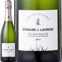 スパークリングワイン クレマン ドメーヌ・ジ・ロレンス・クレマン・ド・リムー・レ・グレムノス【フランス】【白スパークリングワイン】【750ml】【辛口】【Domaine J. Laurens】【アシェット】【クレマン】