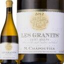 е╖еуе╫е╞егеибже╡еєбже╕ече╝е╒бже╓ещеєбжеьбже░еще╦бб2015Chapoutier Saint-Joseph Blanc Les Granits
