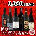 [クーポンで最大2,000円OFF]【送料無料】第37弾!≪濃厚赤ワイン好き必見!≫大満足のフルボディ6本セット!