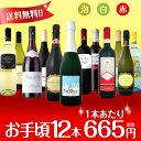 【送料無料】第55弾!1本あたり665円(税別)!スパークリ...